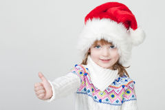 Young smiling girl Stock Images