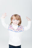Young smiling girl Royalty Free Stock Photo