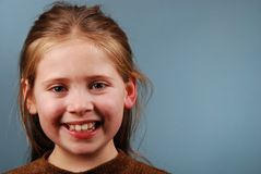 Young smiling girl Stock Photography