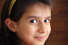 A young smiling girl Stock Photo
