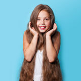 Young smiling girl Royalty Free Stock Photography