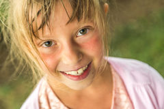 Young smiling girl Royalty Free Stock Images
