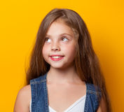 Young smiling girl Stock Photo