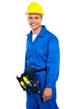 Young smiling industrial contractor Stock Images