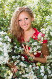 Young smiling lady Royalty Free Stock Image