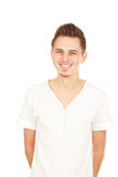 Young smiling man isolated Royalty Free Stock Photo