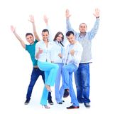 Young smiling people Stock Photography