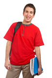 Young smiling student royalty free stock image