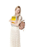 Young smiling student woman Stock Photography