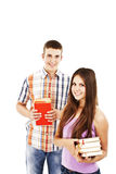 Young smiling students Royalty Free Stock Photography