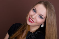 Young smiling woman Royalty Free Stock Photo