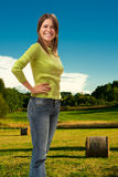 Young smiling woman Stock Photography