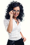 Young smiling woman Royalty Free Stock Image