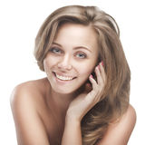 Young smiling woman Royalty Free Stock Images
