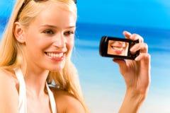 Young smiling woman Stock Photos