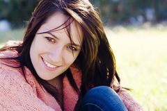 Young smiling woman Royalty Free Stock Photography