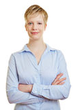 Young smiling woman Stock Photo
