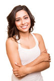 Young smiling woman posing Stock Photo