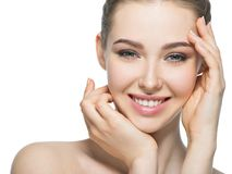 Free Young Smiling Woman With Beautiful Face. Royalty Free Stock Photos - 104200578