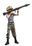 Young sniper Royalty Free Stock Image