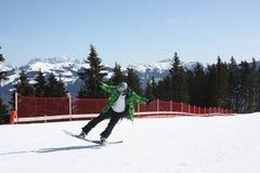 Young snowboard man. Stock Image