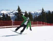 Young snowboard man. Stock Photos