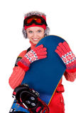 Young snowboarder Royalty Free Stock Photography