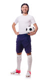 Young soccer football player Stock Images