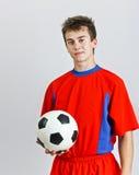 Young soccer player Stock Photos