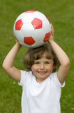 Young soccer player Stock Images