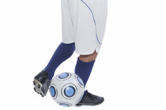 Young soccer player in action Stock Photography