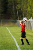 Young soccer player Royalty Free Stock Photo
