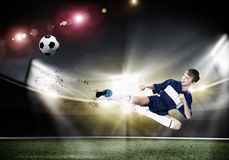 Young soccer player Stock Photos