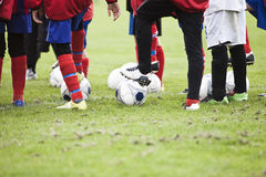 Young Soccer Players Royalty Free Stock Image