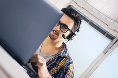 Young software engineer stock photography