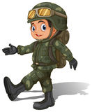A young soldier Royalty Free Stock Photography