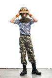 Young soldier Royalty Free Stock Photography