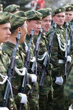 Young soldiers Stock Image