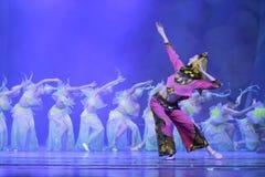 Young south fujian province folk dancer Stock Photo