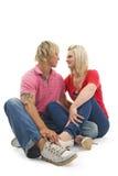 Young spoony couple. Stock Photo