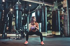 young sport woman stock photography