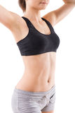 Young sport woman with perfect fitness body Stock Image
