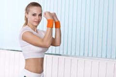 Young sport woman posing Stock Photo