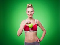 Young sports sexy girl Stock Images
