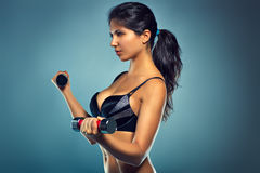 Young sports woman Stock Image