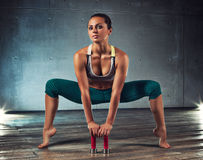 Young sports woman Royalty Free Stock Photos