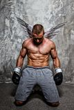 Young sporty man Stock Images