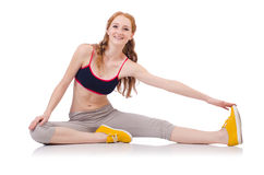 Young sporty woman Stock Photo