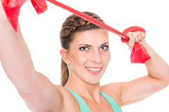 Young and sporty woman Royalty Free Stock Photo