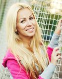 Young sporty woman outdoor Royalty Free Stock Photo
